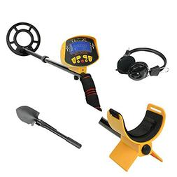 KingDetector MD-3010II Hobby Upgraded Metal Detectors Gold D