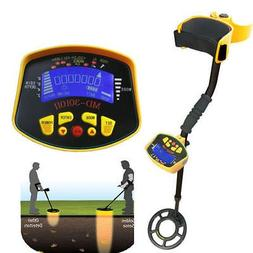 MD-3010II Metal Detector Gold Digger Light Hunter Deep Sensi