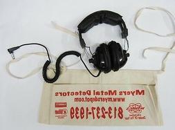 Treasure Wise Metal Detecting Headphones New+Free Treasure A