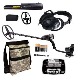 Garrett AT Pro Metal Detector with Pro Pointer II & Camo Dig