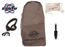 White's Metal Detector Backpack Bundle - 4 Items: 1 Metal De