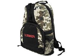 Fisher Metal Detector Digital Camo Style Backpack Padded Str