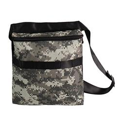 """Metal Detector Camo Bag Finds Pouch with 42"""" Waist Belt for"""