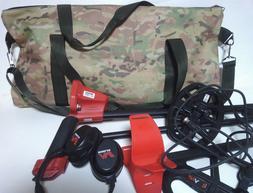 Metal detector carrying bag Minelab Garrett Nokta Whites Tes