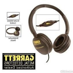 GARRETT METAL DETECTOR CLEAR SOUND easy stow Headphones  Fas