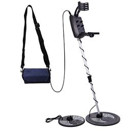 JAXPETY Metal Detector Deep Sensitive Search Gold Digger for