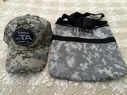 Metal Detector Diggers Pouch Bag  Garrett AT Pro Hat Cap Cam