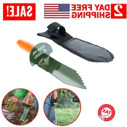 Metal Detector Digging Tool Serrated Steel Edge Digger Garde