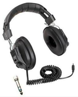 METAL DETECTOR HEADPHONES WITH VOLUME CONTROL - UNIVERSAL -