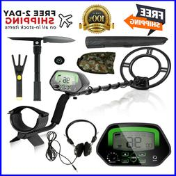 Goplus Metal Detector Kit, Metal Finder Treasures Seeking To