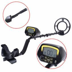LCD Metal Detector Kit Sensitive Search Treasure Hunter w/Sh