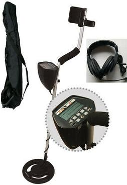 Metal Detector LCD Screen Display with Carry Bag and Headpho