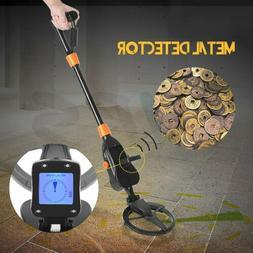 Metal Detector LCD Treasure Hunter Gold Digger Sensitive Wat