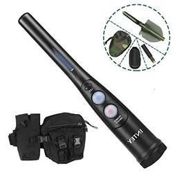 INTEY Metal Detector Pinpointer Kit with 180° Rotatable Sho
