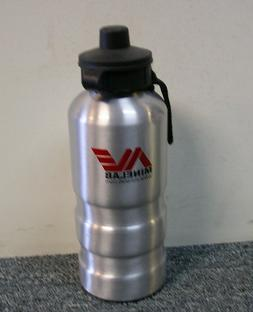 metal detector water bottle aluminum vintage equinox