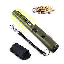 TsingLey Metal Detector Water Resistant Pin Pointer with Hol