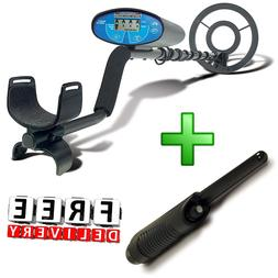 Bounty Hunter Metal Detector With Free Pinpointer Quick Silv