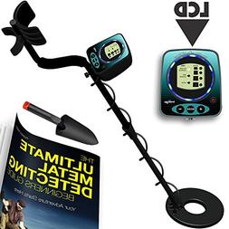 Metal Detectors Waterproof Metal Detector LCD Display by For