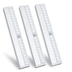 LED Closet Light Motion Sensor Under Cabinet Lighting 20 LED