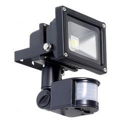 TORCHSTAR Motion Sensor LED Light 10W High Power Flood Light