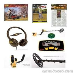 New Garrett Ace 150 Metal Detector with Waterproof Coil & Cl