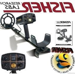 """Fisher New CZ 21 8"""" Waterproof Underwater Metal Detector wit"""