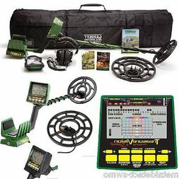 New Garrett GTI 2500 Coin Gold Metal Detector Pro Package wi