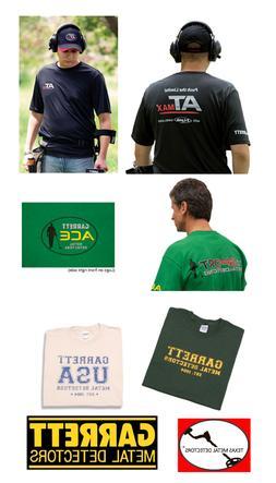 New Garrett Metal Detector T Shirt Great For Detecting Pick