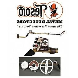 New Tesoro Outlaw Metal Detector 3 Coil Bundle Package