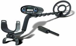 New Bounty Hunter Tracker IV Metal Detector Bundle w/ Pinpoi