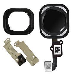 Afeax OEM Home Button Touch ID Sensor Key Flex Cable Assembl