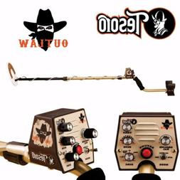 """Tesoro Outlaw Metal Detector with 8"""" Search Coil"""