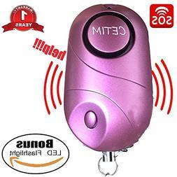 Personal Alarm, CETIM 140dB Emergency Self-Defense Security