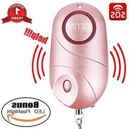 CETIM Personal Alarm, 140dB Emergency Self-Defense Security