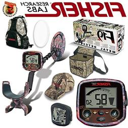 Fisher F19 LTD Pink Camo Bundle with BackPack Coil Cover Rai