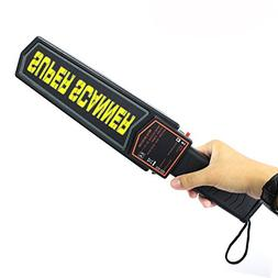 ReaYouth High Precision Security Metal Detector Wand with Ad