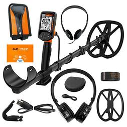 Quest Q40 Metal Detector with 11x9 TurboD Waterproof Search