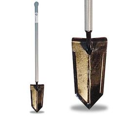 Lesche Sampson Pro-Series Shovel with Ball Handle for Metal