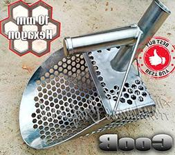 CooB Sand Scoop Small Shovel Stainless Steel Hunting Detecto