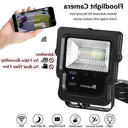 Security Floodlight with Wireless Camera, 450 Lm Spotlights