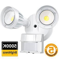 BBOUNDER LED Security Flood Light Outdoor with Motion Sensor