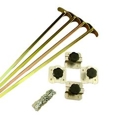 Sluice Box Adjustable DIY Leg Kit - Gold-Mining-Recurculatin