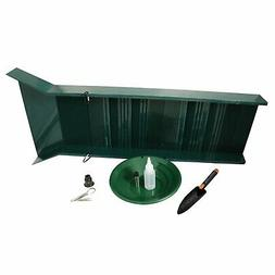 ASR Outdoor Sluice Box Gold Prospecting Kit Pan Vial Snifter