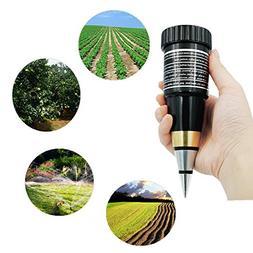 Dugoo Soil PH Meter, Handheld Portable High Precision Metal
