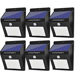 Solar Lights Outdoor, Motion Sensor Light 20 LED Flood Light