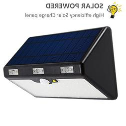 Solar Lights Outdoor,Anxus 60 LED Wireless Waterproof Solar