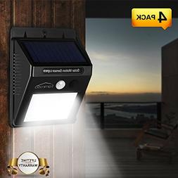 Solar Lights Outdoor Wireless Solar Motion Sensor Lighting S