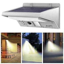 Solar Motion Sensor Light Outdoor, iThird 21 LED Solar Power