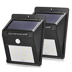 Solar Motion Sensor Lights, 16 LED Waterproof Solar Powered