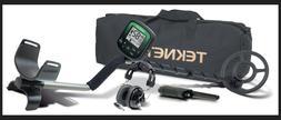 """Teknetics DELTA Metal Detector w/ 8"""" Waterproof Coil headpho"""